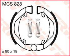 TRW Mâchoires de freins MCS828