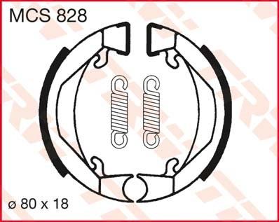 TRW Remschoenen MCS828
