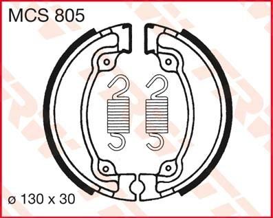 TRW Remschoenen MCS805