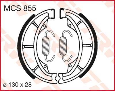 TRW Mâchoires de freins MCS855