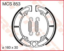 TRW Mâchoires de freins MCS853
