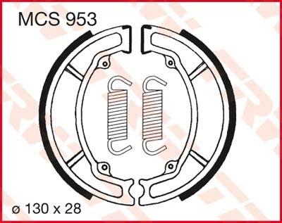 TRW Remschoenen MCS953