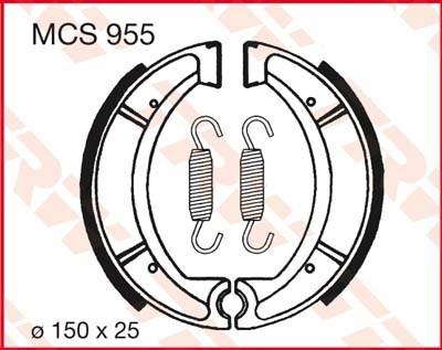TRW Remschoenen MCS955