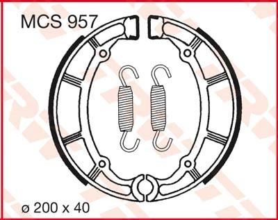 TRW Remschoenen MCS957