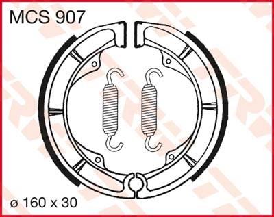 TRW Remschoenen MCS907