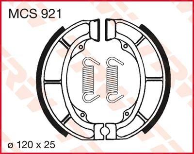 TRW Remschoenen MCS921