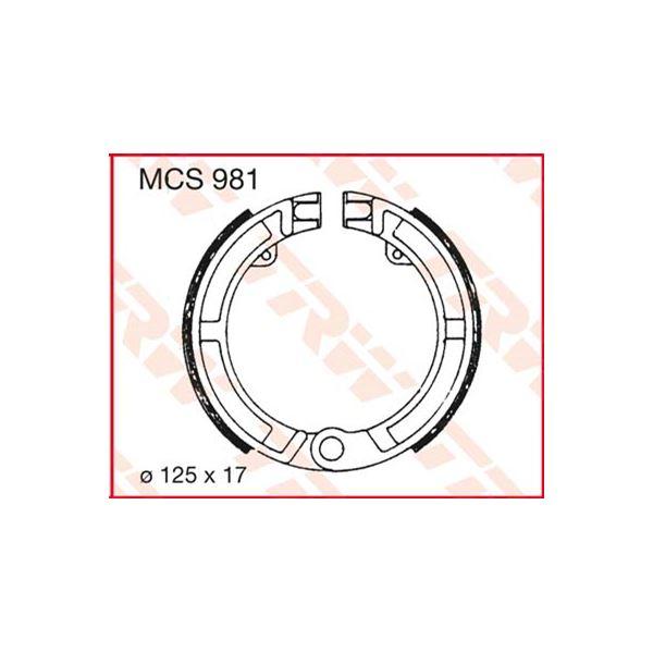 TRW Remschoenen MCS981