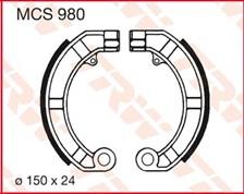TRW Mâchoires de freins MCS980
