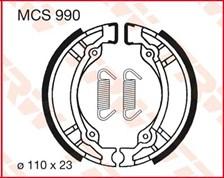 TRW Mâchoires de freins MCS990