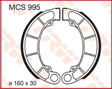 TRW Mâchoires de freins MCS995