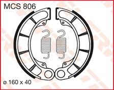 TRW Mâchoires de freins MCS806