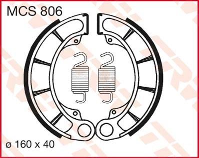 TRW Remschoenen MCS806
