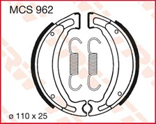 TRW Mâchoires de freins MCS962