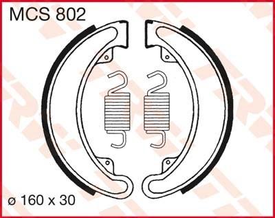 TRW Remschoenen MCS802