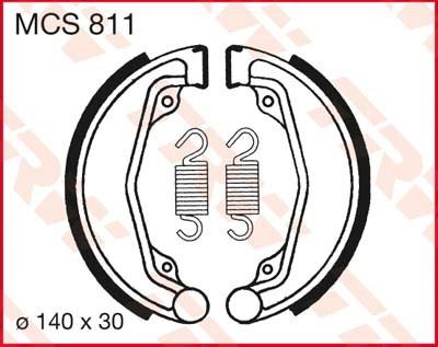 TRW Remschoenen MCS811