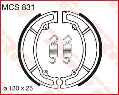 TRW Remschoenen MCS831