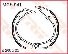 TRW Mâchoires de freins MCS941