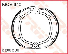 TRW Mâchoires de freins MCS940
