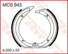 TRW Mâchoires de freins MCS943