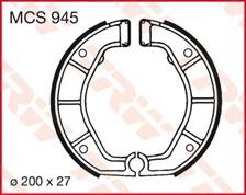 TRW Mâchoires de freins MCS945