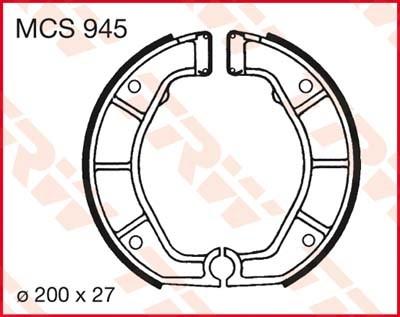 TRW Remschoenen MCS945