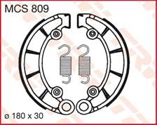 TRW Mâchoires de freins MCS809
