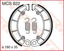 TRW Mâchoires de freins MCS822
