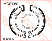 TRW Mâchoires de freins MCS960