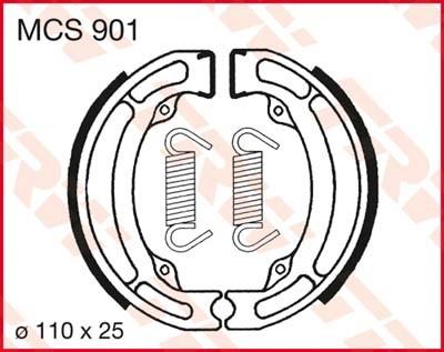 TRW Remschoenen MCS901