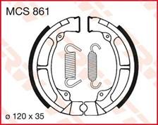 TRW Mâchoires de freins MCS861