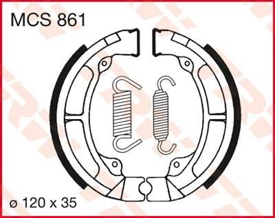 TRW Remschoenen MCS861
