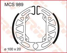 TRW Mâchoires de freins MCS989