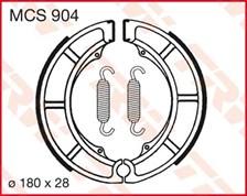 TRW Mâchoires de freins MCS904