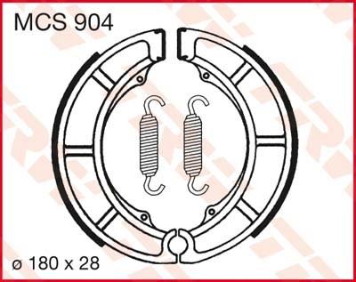 TRW Remschoenen MCS904