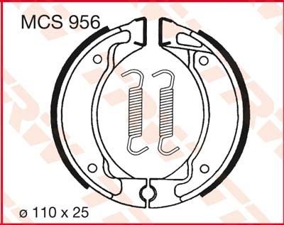 TRW Remschoenen MCS956