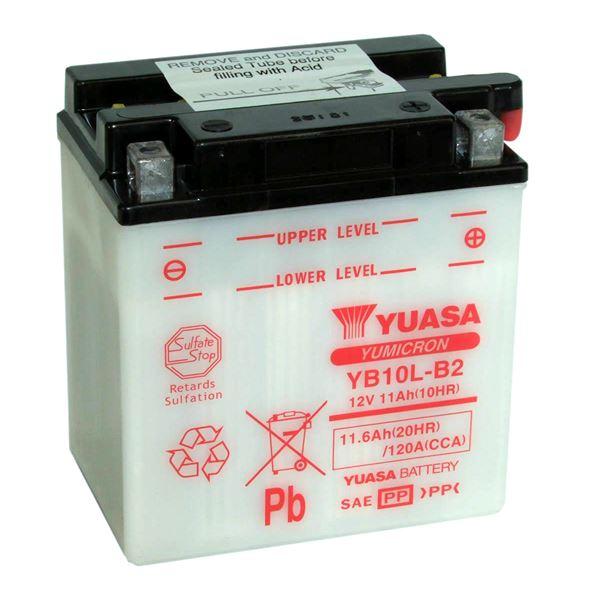 YUASA Yumicron batterij YB10L-B2