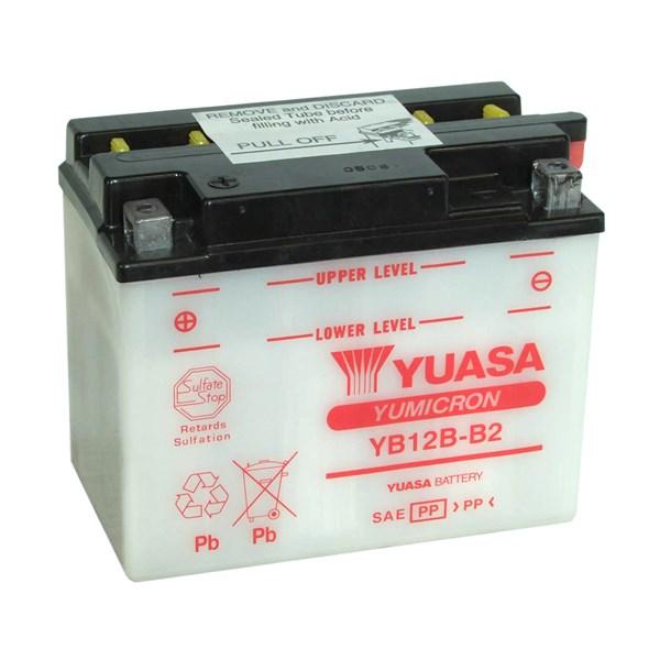 YUASA Yumicron batterij YB12B-B2