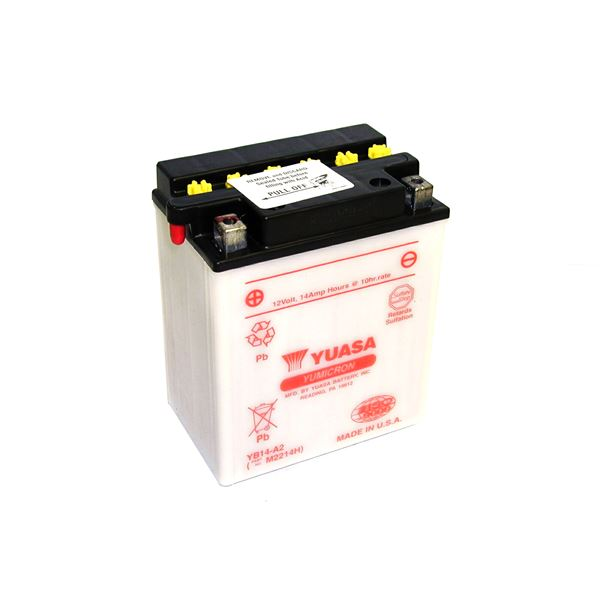 YUASA Yumicron batterij YB14-A2