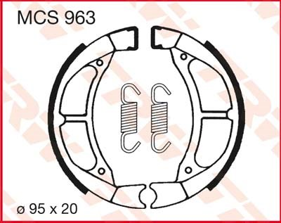 TRW Remschoenen MCS963