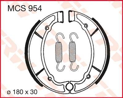 TRW Remschoenen MCS954