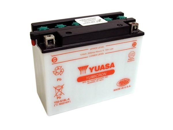 YUASA Yumicron batterij Y50-N18L-A