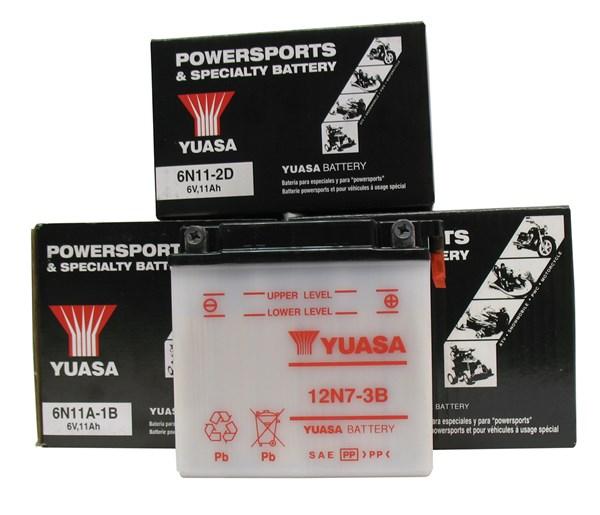 YUASA Conventionele batterij 6N4-2A-3