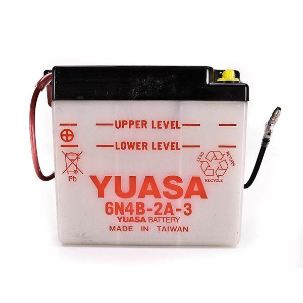 YUASA Conventionele 6V batterij 6N4B-2A-3
