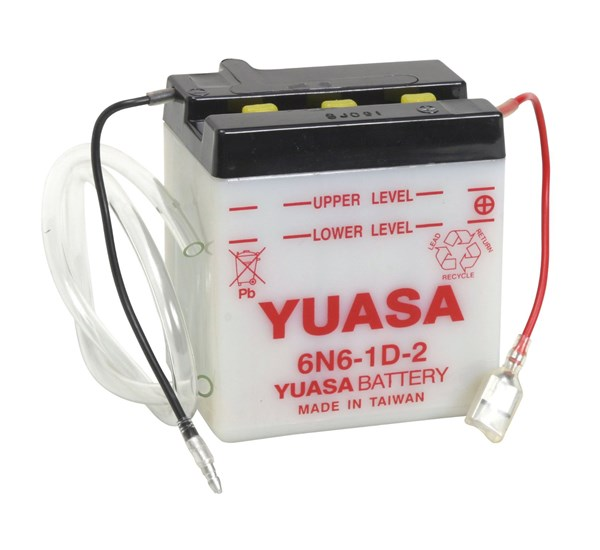 YUASA Conventionele batterij 6N6-1D-2