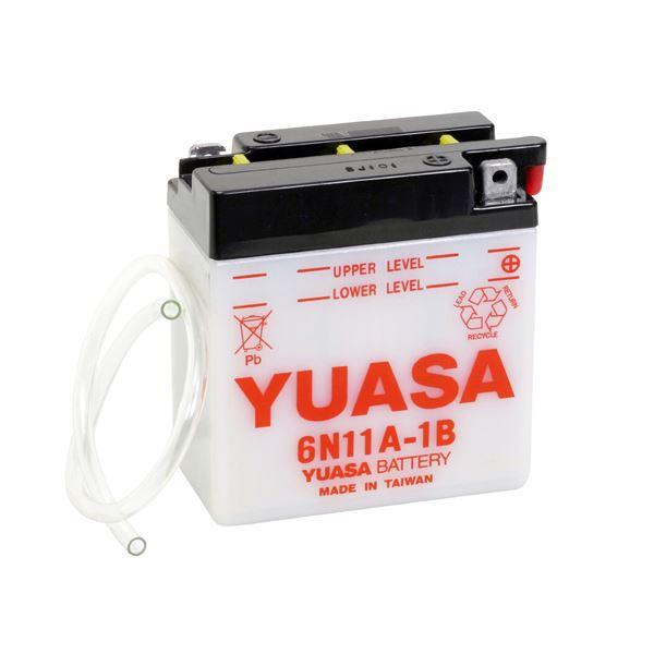 YUASA Conventionele 6V batterij 6N11A-1B
