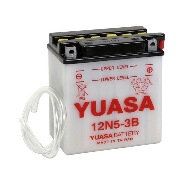 YUASA Conventionele batterij 12N5-3B