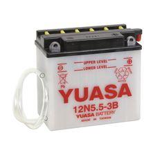 YUASA Conventionele batterij 12N5.5-3B