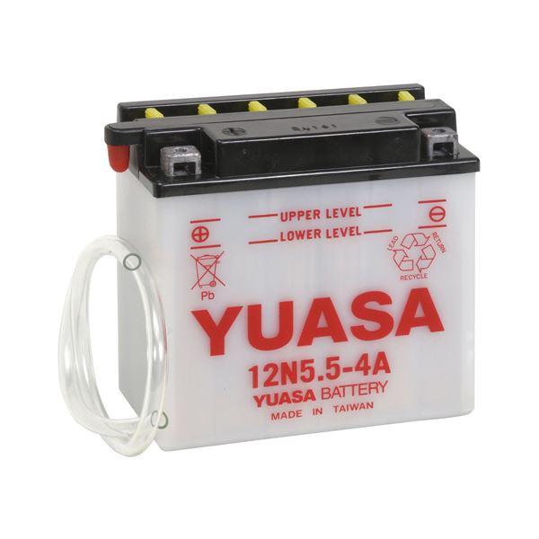 YUASA Conventionele batterij 12N5.5-4A