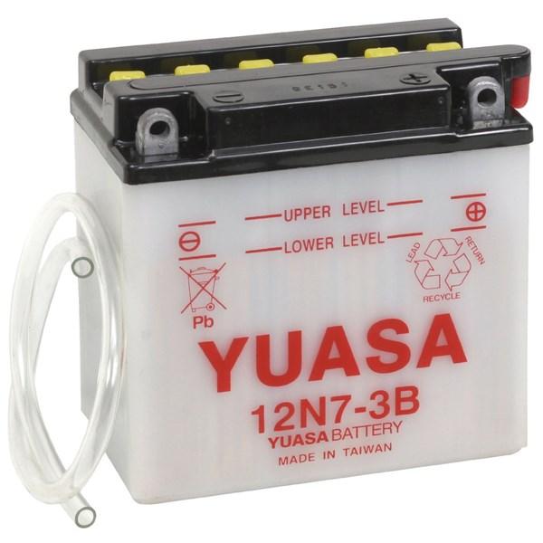 YUASA Conventionele batterij 12N7-3B