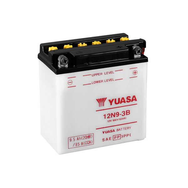 YUASA Conventionele batterij 12N9-3B